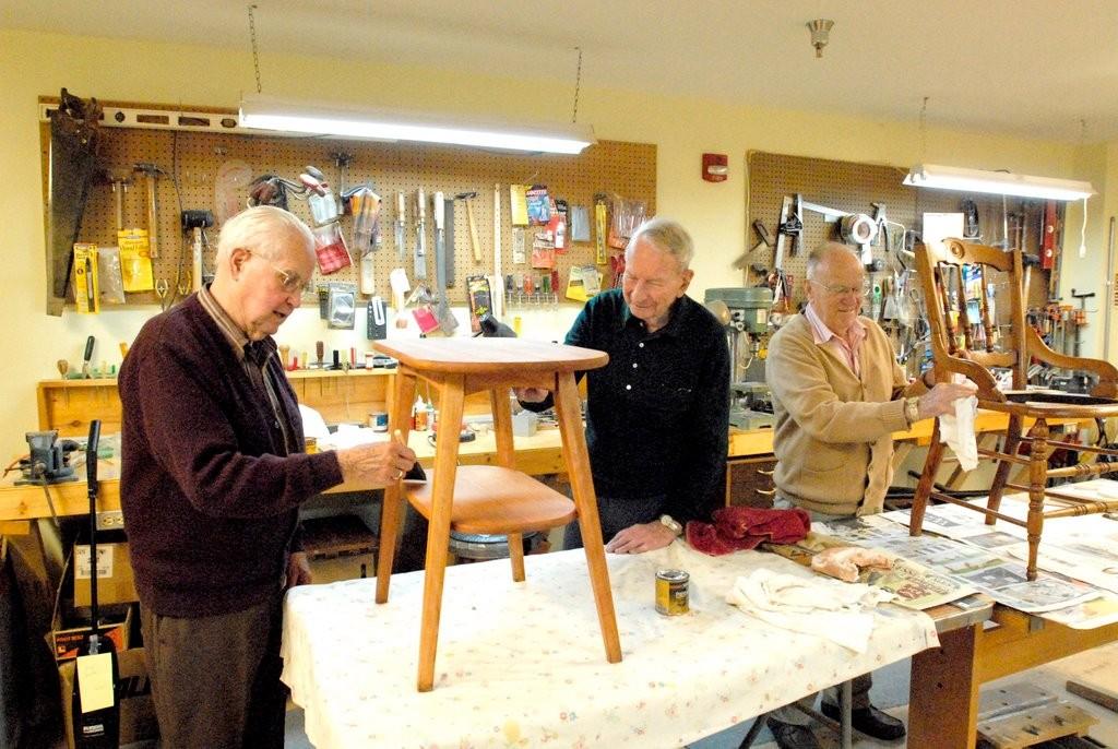 Wood Shop Briarwood Retirement