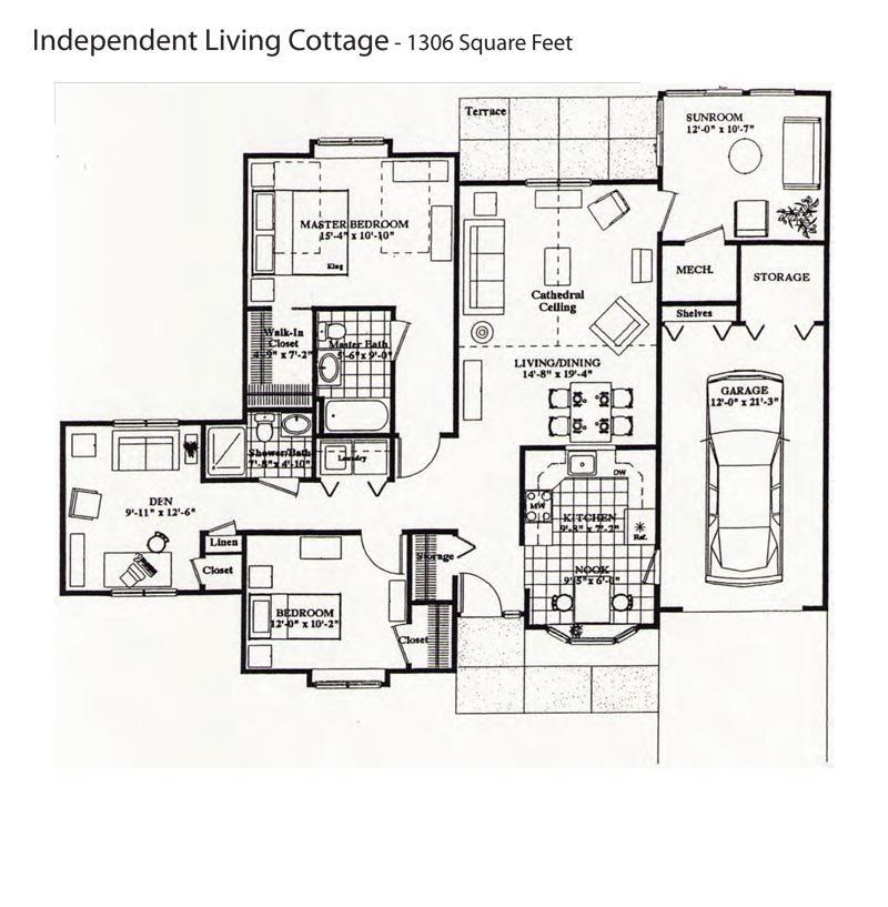 Retirement Communities Floor Plans