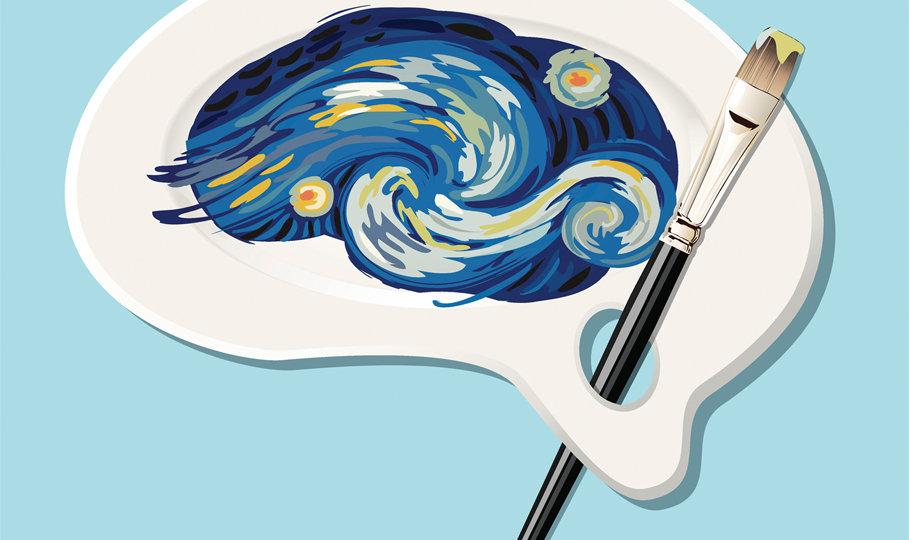 Vincent Van Gogh Starry Night Painting