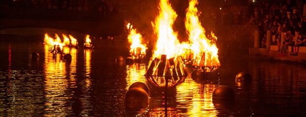 waterfire providence by Adnan Islam