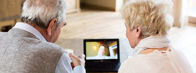 communicating with aging parents from a distance
