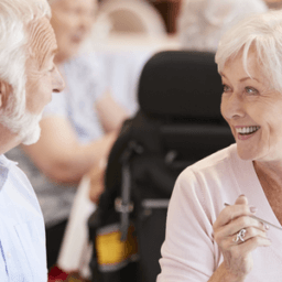 social life in assisted living community
