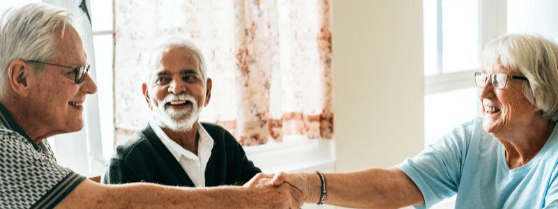 social events in retirement community